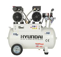کمپرسور باد 50 لیتری سایلنت هیوندا مدل 1550AC - Hyundai